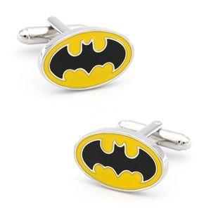 Batman DC Comics Yellow & Black Cufflinks